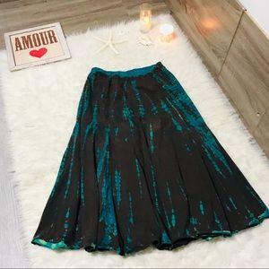 9f23860b7 Karen By Karen Kane Flow Stretch Boho Chic Skirt